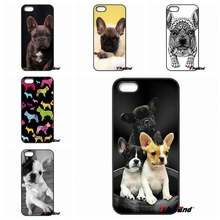 Cute Puppy Pug French Bulldog Pattern Phone Case For Xiaomi Redmi Note 2 3 3S 4 Pro Mi3 Mi4i Mi4C Mi5S MAX iPod Touch 4 5 6(China)