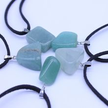 Buy 5PCS Aventurine Quartz Irregular Charm Silvery Chain Necklace Multi Layer Statement Necklaces Amp Pendants Women Summer Jewelry for $3.00 in AliExpress store
