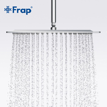 Frap New Arrival 300*300mm Square 304 Stainless Steel Shower head Rainfall Shower Faucet Overhead F28-3(China)