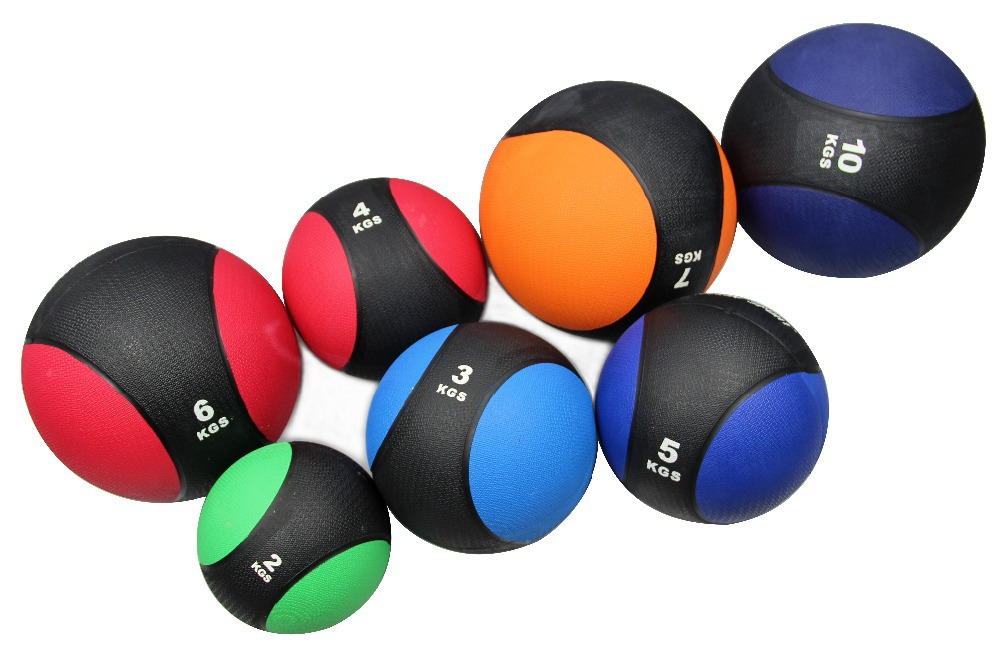 free shipping 1kg muscle driver rubber exercise medicine ball bounce med fitness exercise ball for wholesale<br>