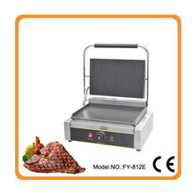 Restaurant equipment for sale commercial Thermostat electric cast iron griddle machine/commercial electric contact grill(China)