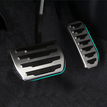Car styling ,Stainless steel Fuel Gas Brake Pedal Set For Land Rover Freelander 2 ,Auto Parts