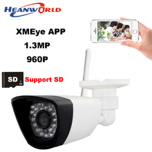 960P IP camera wifi CCTV Webcam wireless Network Surveillance Security Camera 30LED supprot smartphone view micro SD card slot