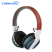Caldecott Wireless Bluetooth Headphones Headsets Hifi Stereo 3D Sound Bass Music Headphone Headband With FM Radio TF Card