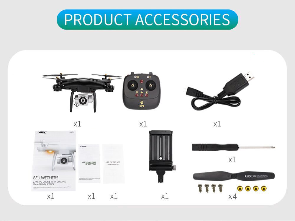 JJRC H68G GPS Drone With Camera 1080P HD 5G Wifi FPV Quadrocopter RC Helicopter Professional Dron Compass Auto Follow Quadcopter 17