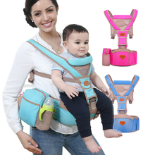 Baby Sling Ergonomic Baby Carrier Backpack Infant Organic Cotton + Sponge Newborn Suspenders Ring Sling Wrap Kangaroo Carrier