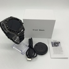 2017 New Smart Watch NO.1 Sun S2 Round screen Bluetooth Watch for  iphone 6/5s iOS Android Smartphone pk kw18 g3 AS2 Q18 DZ09
