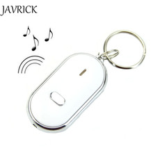 JAVRICK New Sound Whistle Control White LED Key Finder Locator Find Lost Keychain Keys Chain ZB380