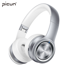 Buy Picun P26 Wireless Bluetooth Headphone Stereo HiFi SoundMusic Headset Super Bass Earphone Microphone TF Phone iPad MP3 for $29.99 in AliExpress store