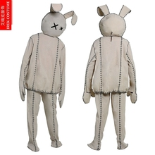 IREK New Movie Cosplay Halloween Costume Cut Doll Bonnie Rabbit Costume  Performance Party Clothing High Quality