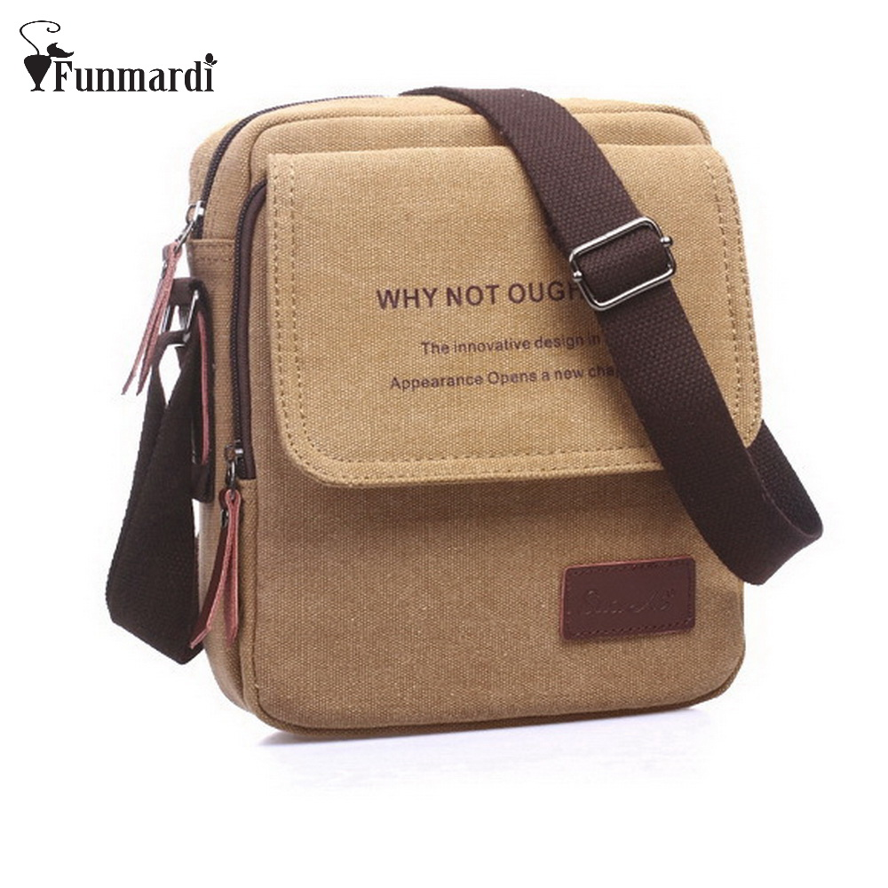 Hot sale factory direct supply canvas man bags New arrival mini message bags fashion cotton shoulder bag WLHB900<br><br>Aliexpress