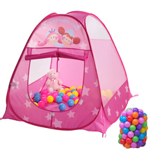 New Baby Play Tent Child Kids Indoor Outdoor Tents House Large Portable Ocean Balls Great Gift games Playhouse Toys For Children