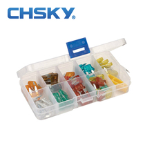 CHSKY 100PCS ATM min car fuse 5A 7.5A 10A 15A 20A 25A 30A 40A min fuses car boat truck motorcycle min blade fuse(China)
