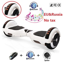 Buy 6.5 inch electric scooter Self balancing scooter 2 wheel electric standing scooter skateboard hoverboard bluetooth oxboard for $89.98 in AliExpress store