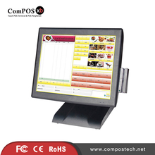 Cheap 15 POS PC Touch Screen Monitor Pos Point Of Sale Retail Pos System Build In Speaker(China)