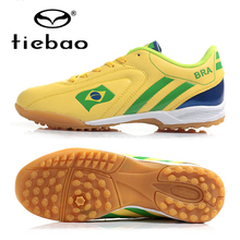 TIEBAO Brand Professional Men Women TF Turf Soles Football Boots Adults Athletic Sneakers Outdoor Sport Soccer Shoes EU 39-44(China)