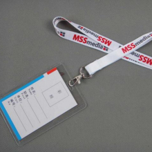 Personalized Lanyards Neck Strap For ID Pass Card Badge Holder SET Accessories custom print with your company name / logo/email(China)