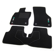 5pcs High Quality Odorless Auto Carpet Mats Perfect Fitted For Skoda Octavia(China)