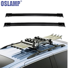 Oslamp 2pcs Roof Rack Cross Bar 132LBS 60KG Cross Xbars For Honda Odyssey 2005-2010 Travel Luggage Carrier Baggage Rack Holder(China)