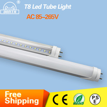 4ft 1200mm G13 T8 Led Tube Light 10W 20W 22W 25W High Luminous Flux Led Fluorescent T8 AC85-265V 30pcs Factory T8 Tube Lighting