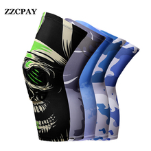 1 PCS New Brand ZZCPAY Support Sports Running Kneepads Basketball Football Knee Pads Training Knee Protector Knee Volleyball Pad