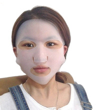 Silicone Face Mask Cover Prevent Mask Essence Evaporation Speed Up The Absorption Moisturizing Facial Mask Cover(China)