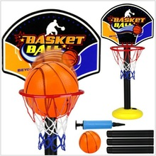 Outdoor Kids Sport Adjustable Portable tablet Basketball Stand Toy Set liftable Children Mini Basketball HoopBaby Ball sport(China)