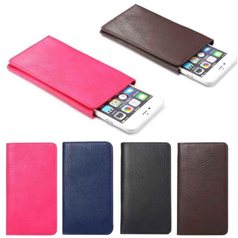 4 Colors Wallet Book Style Leather Phone font b Case b font Credit Card Holder Cover