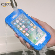 KISSCASE Waterproof Case For iPhone 7 7 Plus 6s 6 Plus Hybrid Swimming Dive Water ShockProof Cases Cover For iPhone 6 6s 7 Plus(China)