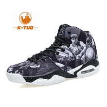 K-TUO High Top Basketball Shoes Men Women Boots Breathable Non Slip Shoes Loves Sports Air Basketball Outdoor Sneakers KT-8002(China)