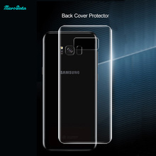 for Samsung Galaxy S8 tempered glass screen protector film 3D full cover back protection s8 mobile phone screen saver guard film