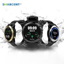 SMARCENT H1P Heart Rate Bluetooth Smart Watch IP68 Waterproof 3G MTK6572 Smartwatch with Camera Support SIM/GPS/WIFI Smart Band
