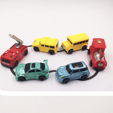 2017 New Magic Toy Truck  MINI Magic Pen Inductive Fangle Children's Truck Tank Toy Car Draw lines Induction rail Car