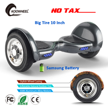 Koowheel 2017 Smart Hoverboard 2 Motors Self Balancing 10 Inch Electric Skateboard Samsung Battery Hover Board gyroscope Scooter(China)