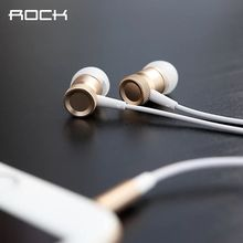 Rock Mula Stereo Earphone In-Ear Headset With Microphone Dj Hifi For iPhone 6 6s 6plus Xiaomi Samsung HTC Sony MP3 Player