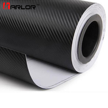 30x200cm 3D Carbon Fiber Vinyl Car Wrap Sheet Roll Film Sticker Decal Sale Car Styling Accessories Auto Motorcycle Automobiles