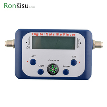 Digital Display Satellite Finder Satellite Signal Meter Compass TV Dish FTA LNB Satellite finder localizador for receiver