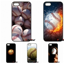 For iPod Touch iPhone 4 4S 5 5S 5C SE 6 6S 7 Plus Samung Galaxy A3 A5 J3 J5 J7 2016 2017 Baseball ball Popular american Case(China)