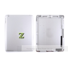 100% good working Silver 9.7 Inches Rear Case Battery Door For Ipad 2 Housing Back Cover WIFI or 3G Version 1Pcs