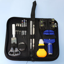 A Set Practical Watch Band Repair Tool Table Kit Case Opener Screwdriver Knife with Packing Hand Bag for Watch(China)
