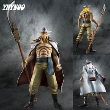 YNYNOO One Piece Newest 35cm Model Edward Newgates White Beards Battle Ver Anime Action & Toys Figures With Base For Collection