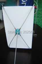 "Wholesale 1000PCS Desktop X Banner Stand,Mini X Display,Trade Show Advertising Table X Banner Display Equipment, 9.5""x16.5"""