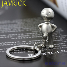 Novelty Souvenir Cute Creative Classic funny Mr.P Boy Creative Gifts Keychain Key Chain Ring Key Fob Stainless steel Key Chains