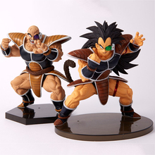 2 style Dragon Ball Z Super Saiyan Nappa Goku Raditz Ultimate Form Anime Combat Edition PVC Action Figure Collectible Toys #E