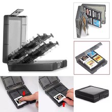 MOUGOL Game Card Case Holder 16 in1 Cartridge Storage Box For Nintend 3DS DS XL LL(China)
