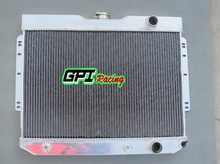 3 ROW ALUMINUM ALLOY RADIATOR CHEVY BEL AIR,BISCAYNE,CHEVELLE,IMPALA 1960 1961 1962 1963 1964 1965(China)