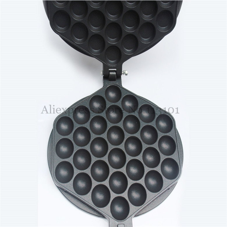 Egg Waffle Pan Egg Puffs Tool Kitchen Appliance Non-stick Eggette Waffle Iron Grill<br>