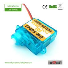 20pcs/lot DOMAN RC DM-S0043 4.3g micro rc servo(China)