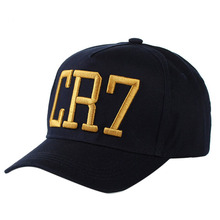 Newest Style Cristiano Ronaldo CR7 Hats Baseball Caps Hip Hop Caps  Snapback Football Hats for Men Women High Quality