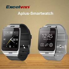 Excelvan Smart Watch Aplus GV18 NFC Bluetooth Connection with Camera Unlocked SIM Phone Watch Sync Call Music Reminder Anti-lost(China)